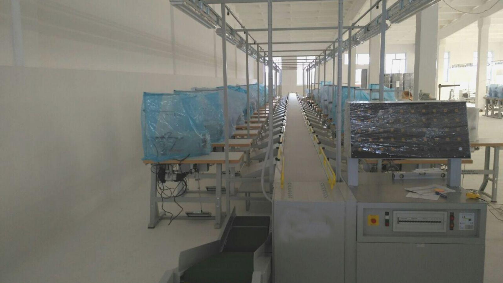 installazione manovia Taiga international trading