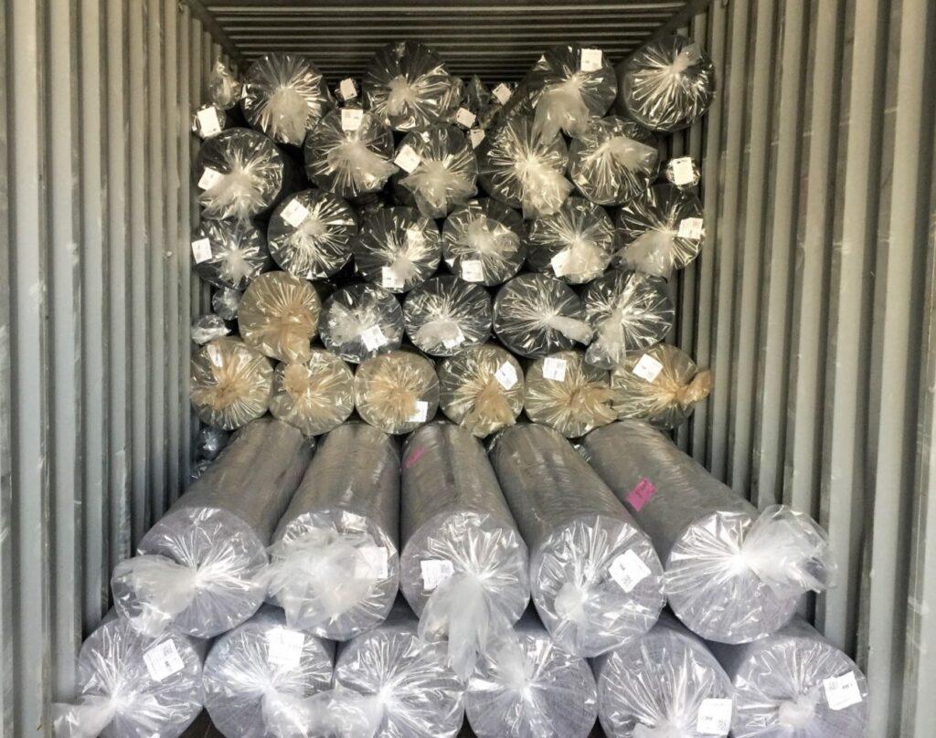 Fornitura Materiali Tessili e Container