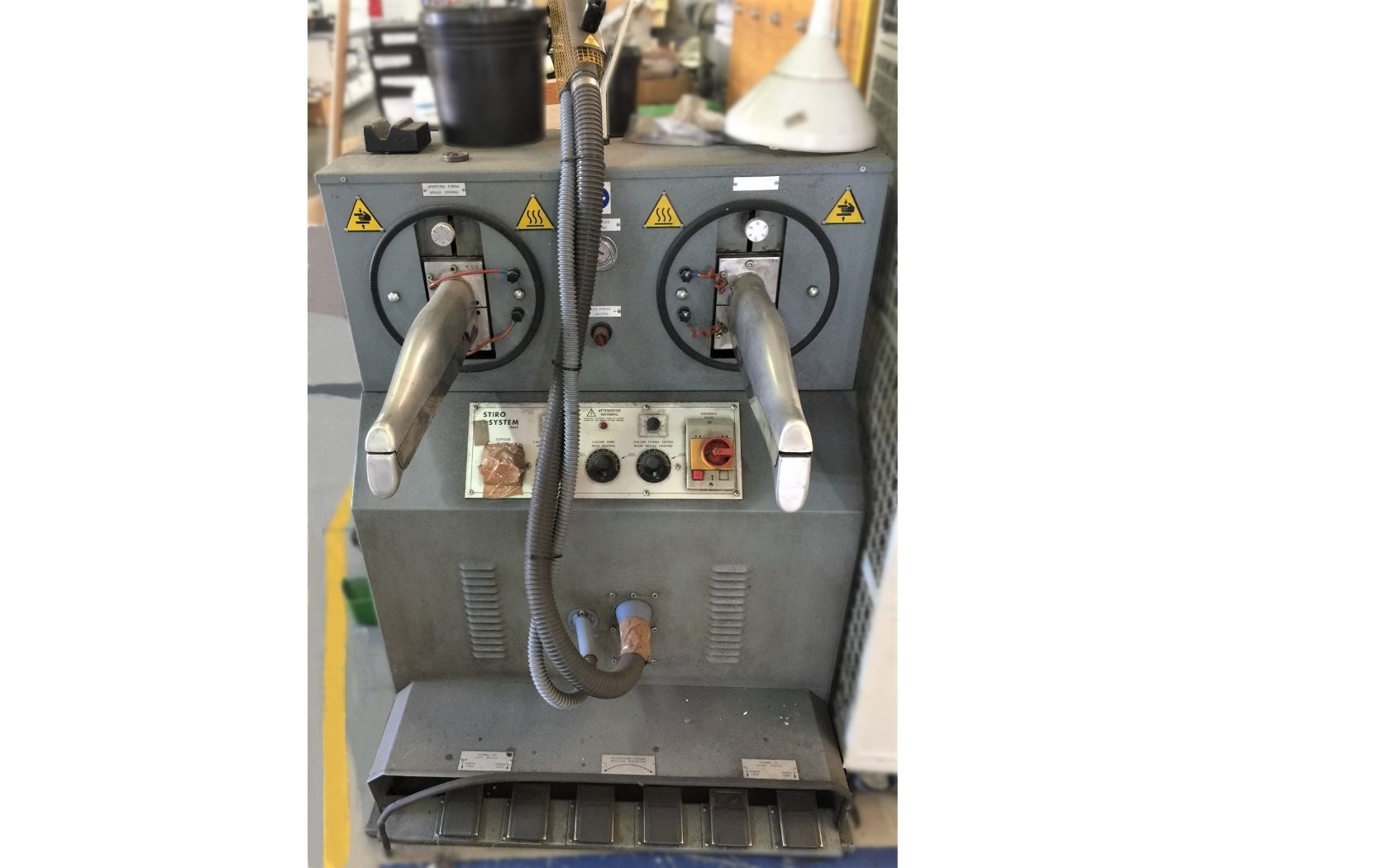IRONING MACHINE FOR BOOTS FIORETTO MOD. MF78-B